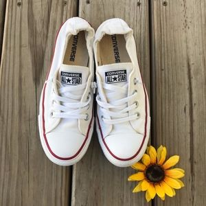 Converse All White Sneakers